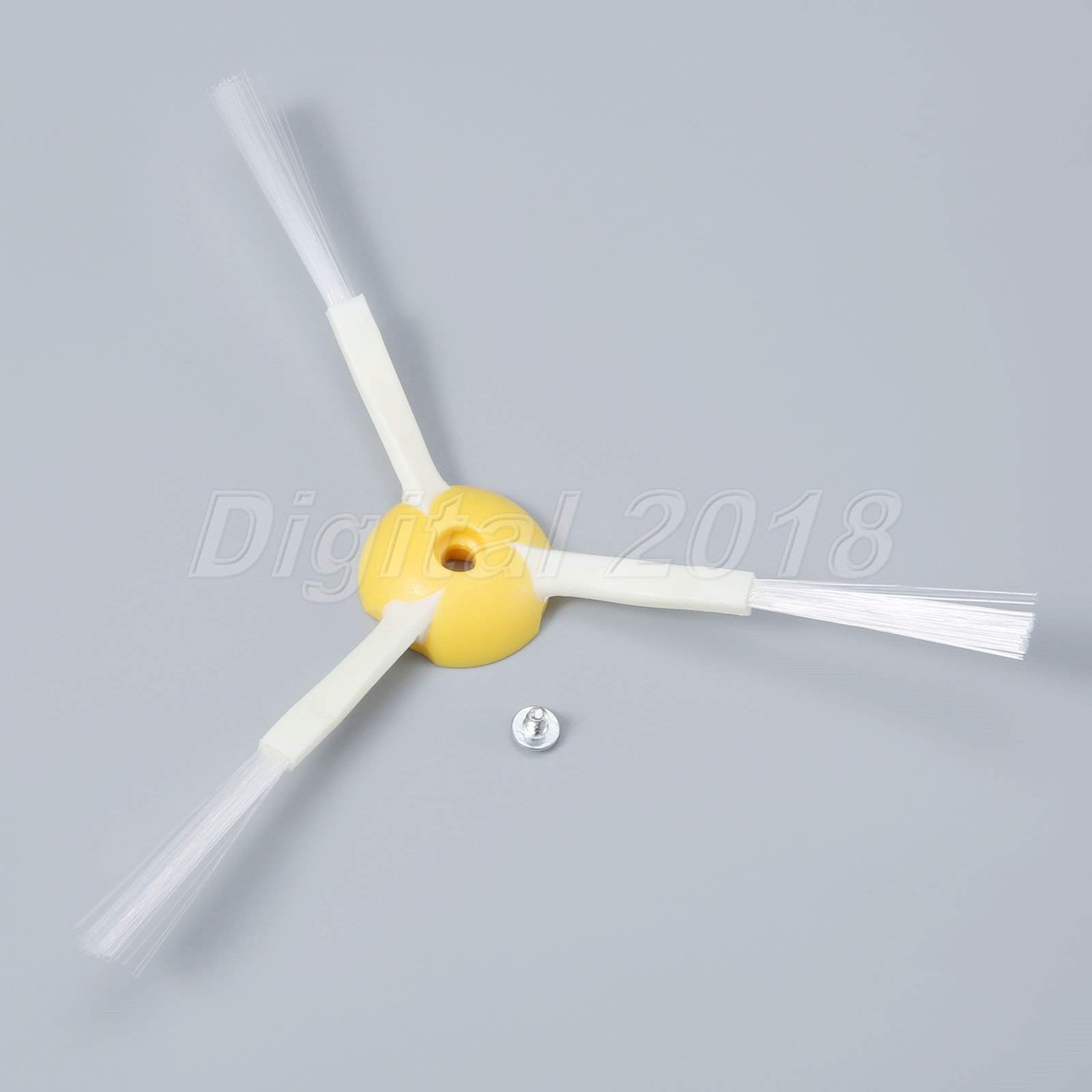 Vacuum Cleaner Parts 3-Armed Side Brush Fit For iRobot Roomba 500 600 700 Series