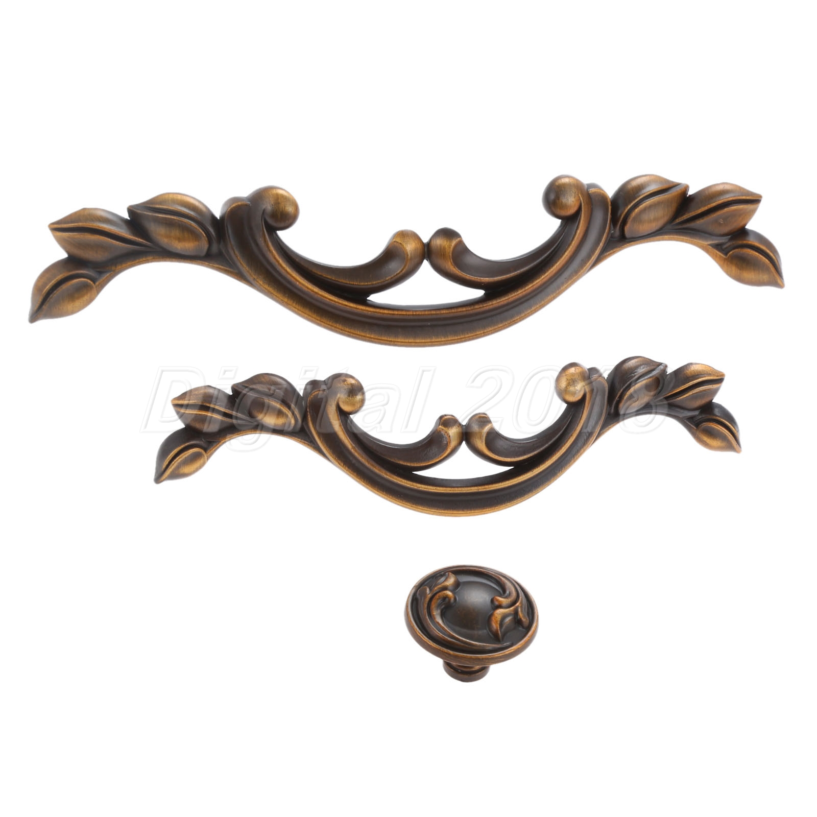 Details About Rustic Coffee Color Drawer Handles Kitchen Cabinet Knob Door Pulls Zinc Alloy
